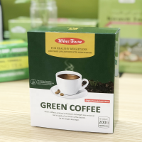 Green coffee instant private label diet instant coffee drink in paris