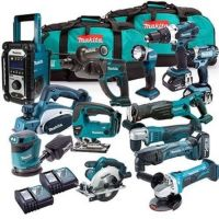 Makitas LXT1500 18-Volt LXT Lithium-Ion Cordless 15-Piece Combo Kit / power tool / cordless drill