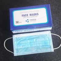 FFP2 Surgery Respiratory Mask Face Disposable Facial Earloop 3ply Indoplas Surgical Mask