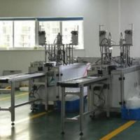 FPM surgical medical equipment face mask machine for earloop face masks medical 3ply pad printing machine