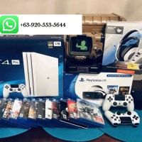 2 Wireless Controllers + 10 Free Games + P S 4 Pro Video Game Console
