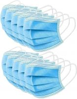 PFE 99% Medical Disposable face mask non-woven 3 ply surgical mask with Tie-on