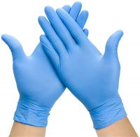Cheap Price Disposable yellow nitrile gloves for hospital