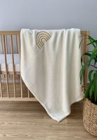 Embroidered Plush Baby Blanket
