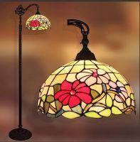12inch Tiffany Lights Hanging-Floor Lamp