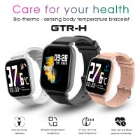 Temperature/Blood Pressure/Blood oxygen/Heart rate measurement Touch Screen 1.54 inch Smart Watch