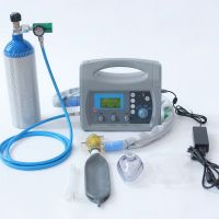 Medical Ventilator, Transport Ventilator, Breathing Equipment with Air Compressor, Portable Emergency and Transport Ventilator