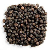dried bulk black pepper cleaned