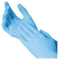 hot selling medical blue nitrile work gloves