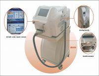Painless Diode Laser Hair Removal Machine 1-100J / CM2 No Side Effect