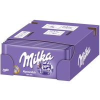 MILKA HAZELNUT CHOCOLATE WITH NUTS
