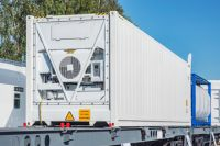 Used 20ft/40ft Fresh Vegetable Refrigerated Shipping Containers Reefer Container