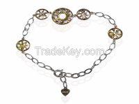 925 Sterling Silver Bracelet Women Jewelry
