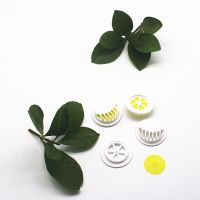 PP 27MM breathing valve with silicone disk white and black filters