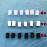 black white silicone loop holder