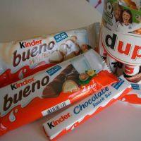 Kinder Joy, Kinder Bueno et Ferrero, Nutella 350g, 400g, 800