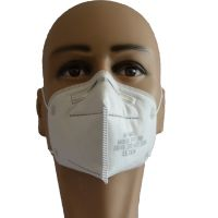 Wholesale En149 4ply Reusable PPE Fashion Dust Face Shield in Stock Non Woven Disposable KN95 Face Mask with CE FFP1
