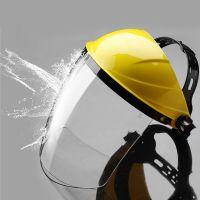 High Quality Clear Plexiglass Splash Protector Facial Face Shields