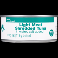 Light Meat Tuna Shredded in Brine 170g