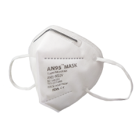 AN95 respirator mask 5ply (no valve, white) CE Certified KN95, N95 disposable mask