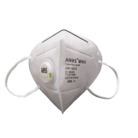 AN95 respirator mask 5ply (valve, white) CE Certified KN95, N95 disposable mask