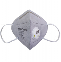 AN95 respirator mask 5 ply (valve, grey) CE Certified KN95, N95 disposable mask