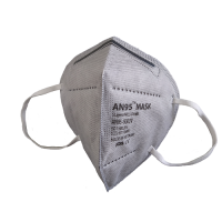 AN95 KN95 respirator mask 5ply (no valve, grey) CE Certified