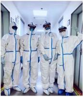 Disposable Coverall Hazmat Suit Protective Suit Surgical Suit