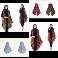 vest / outer batik