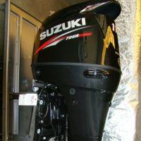Used 2019 Suzuki 150HP 4 stroke outboard motor / boat engine