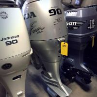 Used Hondas 90HP 4-stroke Outboards Engines Motors
