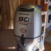 Used 2019 Hondas 90HP Outboard Motor.