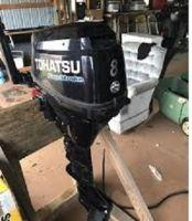 USED TOHATSU 8HP 4 STROKE OUTBOARD MOTOR