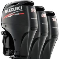 Used  SUZUKI DF 90 HP FOUR STROKE OUTBOARD ENGINE BOAT MOTOR  FOB Reference Price: