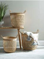 Seagrass Open Weave Storage Basket Made in Vietnam