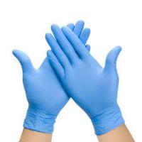 PRI Blue Examination Industrial Multi Use Disposable Powder Free Nitrile Gloves