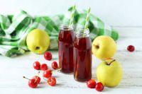 Apple Sour Cherry Juice Natural
