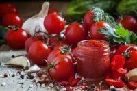 Pleasant aroma tomato paste