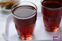 Apple-blackcurrant juice clarified