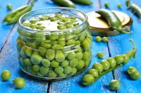 Delicious canned Green Peas