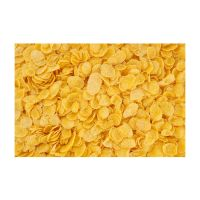 Breakfast Cereal Topper Sweet Corn Flakes with Spoon, D95