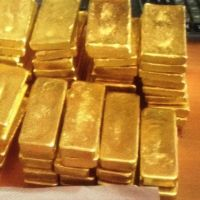 raw gold bars, gold dust and gold nuggets for sale