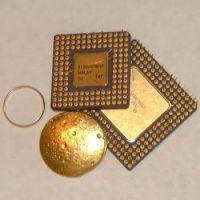 Ceramic CPU Processor Scrap gold / AMD 486 CPU AND 586 CPU SCRAPS