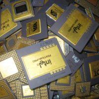 QUALITY INTEL CPU SCRAPS 486 AND 386 CPU CERAMIC PROCESSOR SCRAPS GOLD RECOVERY FOR SALE