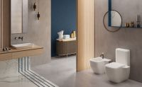 Sanitary ware suites modern and classic