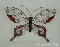 Sell BUTTERFLY WALL ART, CANDEL HOLDER, METAL HOME DECOR