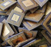 Bulk cpu scrap with gold pins low price