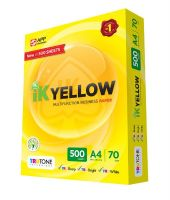 IK Yellow and IK Plus Copy Papers 80gsm, 75gsm and 70gsm/chamex A4paper, paperone