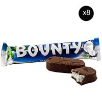 Bounty chocolate bar original and tasty bulk quantity available on cheap rate