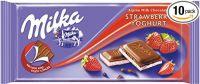 MILKA YOGHURT STRAWBERRY 100G CHOCOLATE